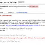 Verizon Wireless Phishing Email: Scams & How to Avoid Them (Part 2)