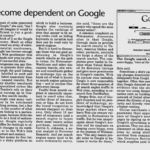 FLASHBACK: Early Talks of Google Dominance Reflected in Malaysian Newspaper – Dec 12, 2002