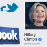 Presidential Candidates: Donald Trump vs Hillary Clinton on Facebook, Twitter