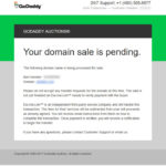 Just Another 'Go-Nowhere' Transaction at GoDaddy's Aftermarket for Domains; WTF?