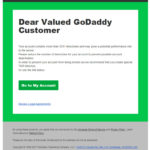 Phishing: Watch-out for New Dangerous Godaddy Email Phishing Attempt