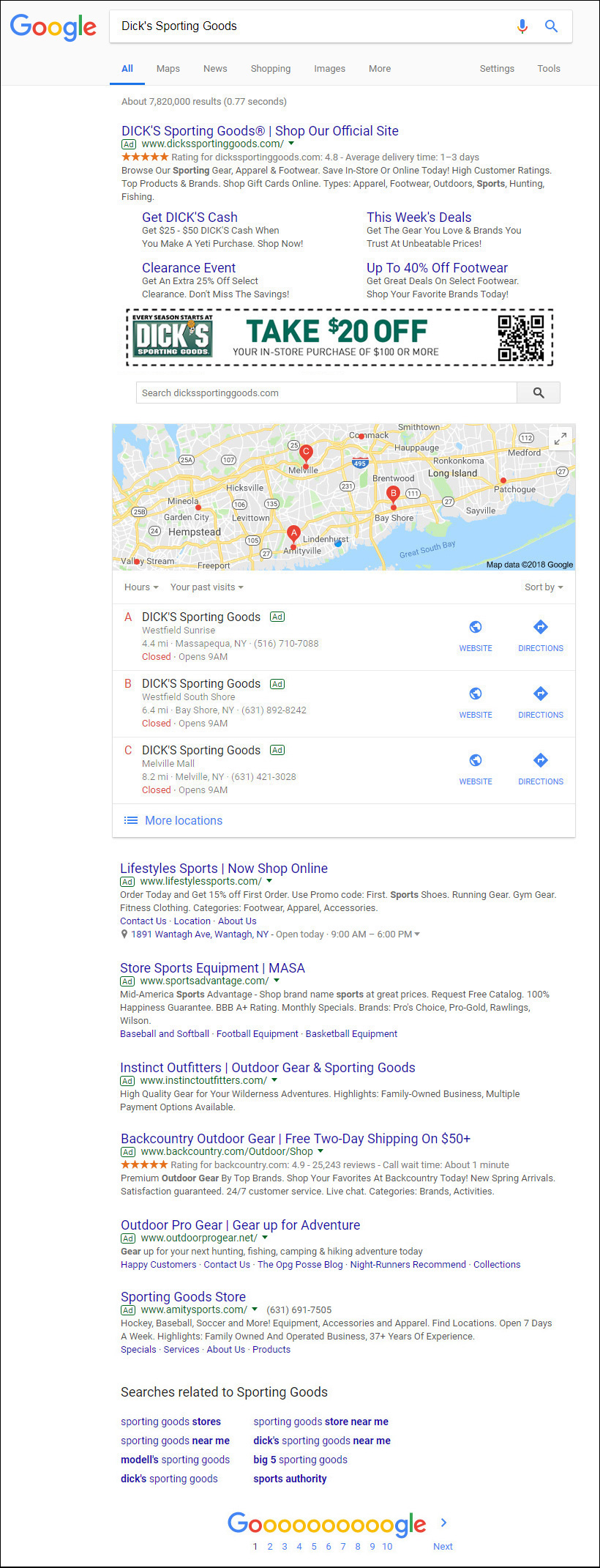 Speculative Future Search Result
