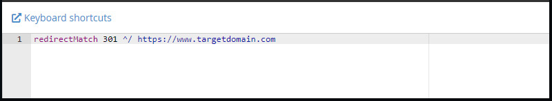Sending All Traffic from Purchased or Expired Domain to Different Website